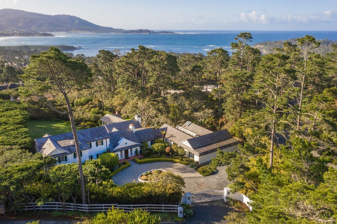 Classic Pebble Beach Estate with Ocean Views - 1476 Bonifacio Road