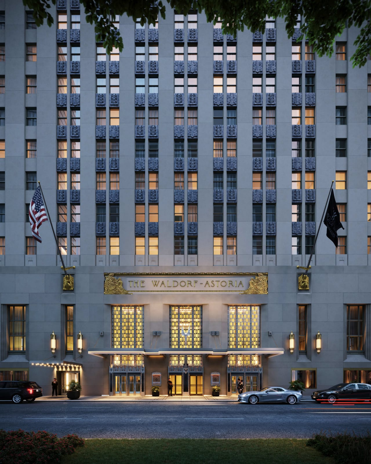 The Towers of the Waldorf Astoria