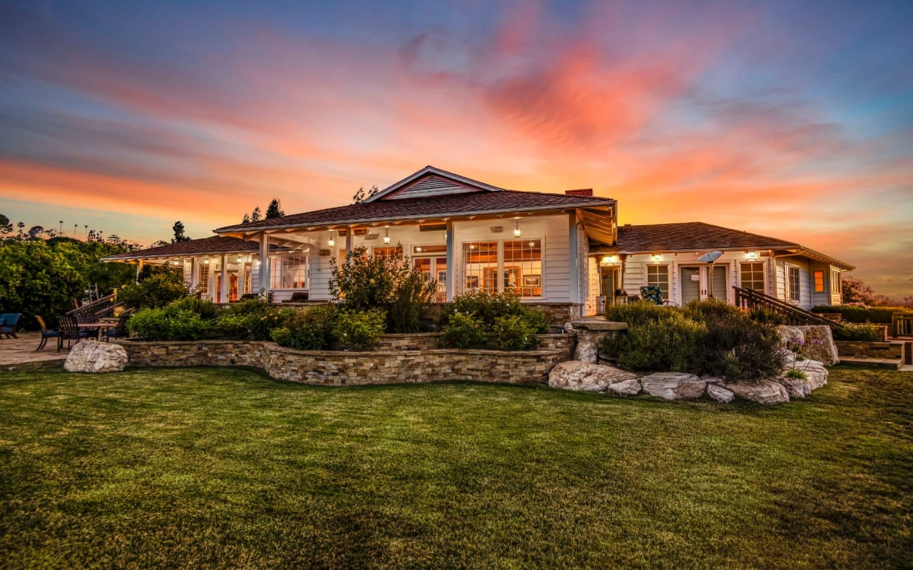 Sprawling estate with panoramic views