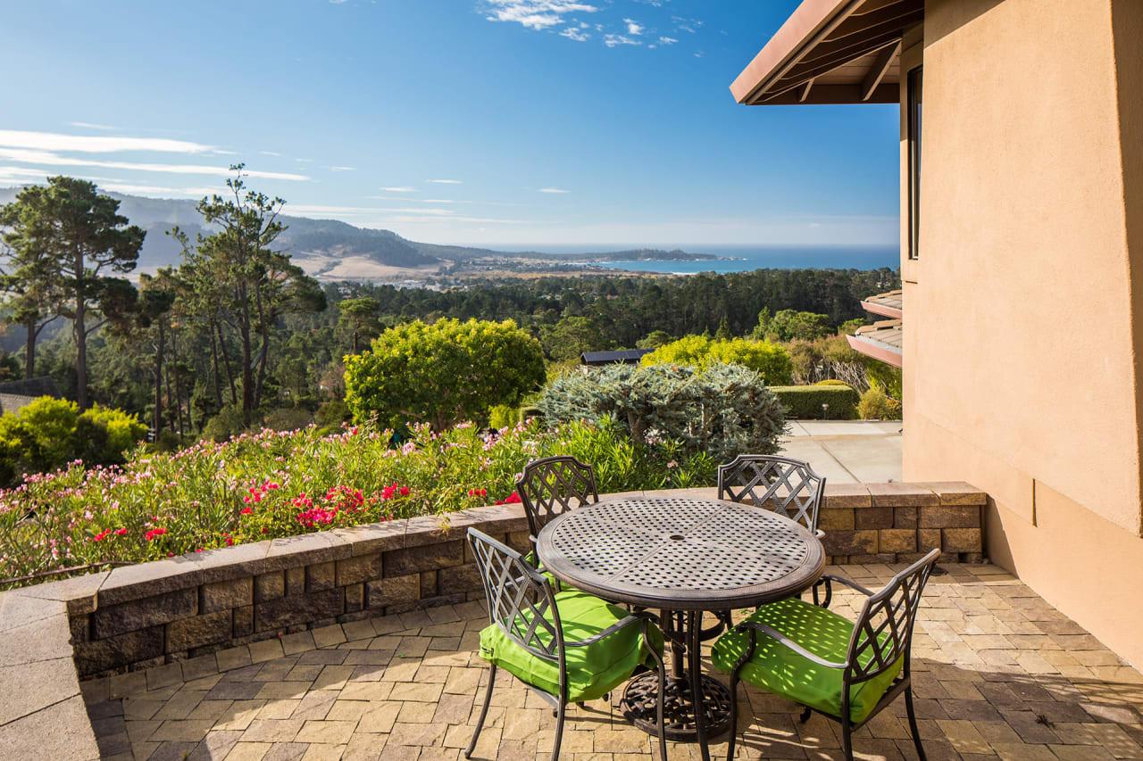 Panoramic Ocean Views in Carmel - 25200 Pine Hills Drive