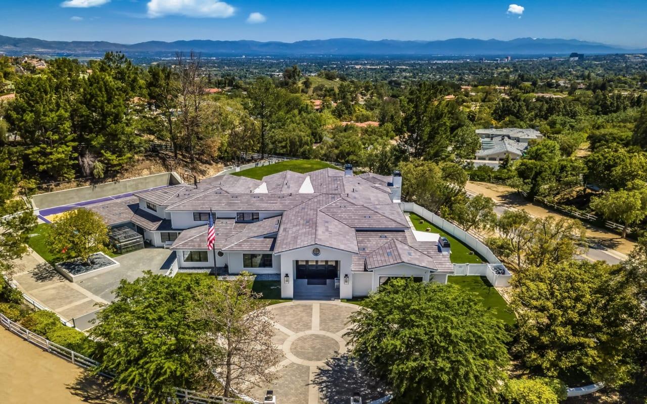 Stunning Reimagined Hidden Hills Estate