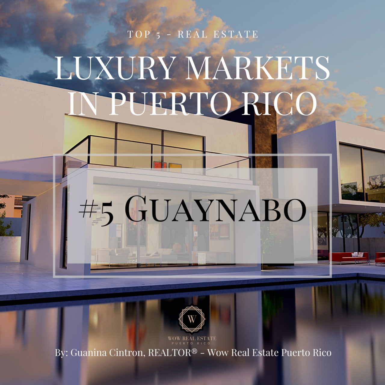 #5 of the Top 5 Real Estate Luxury Markets in Puerto Rico : Guaynabo