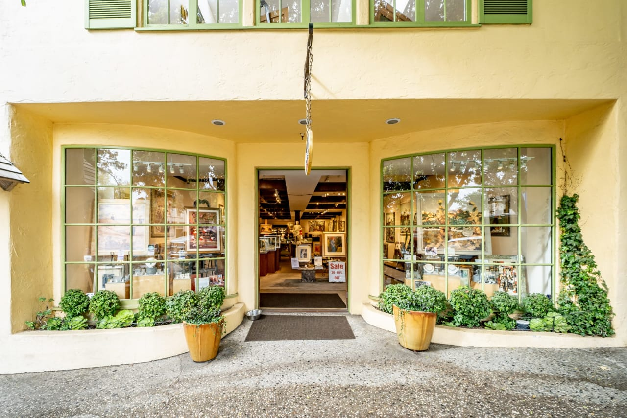Downtown Carmel Commercial Building For Sale on Ocean Ave