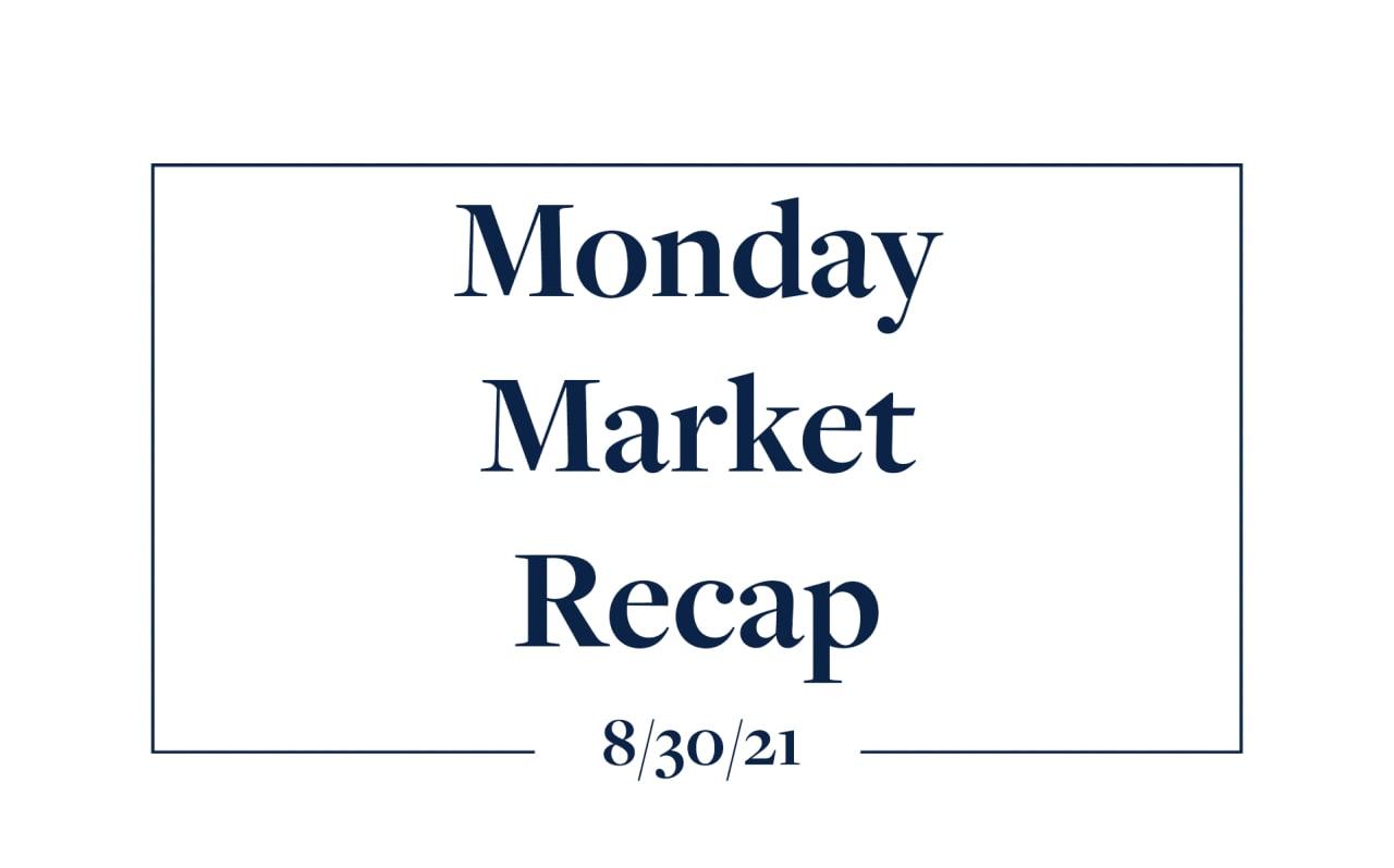 Monday Market Update