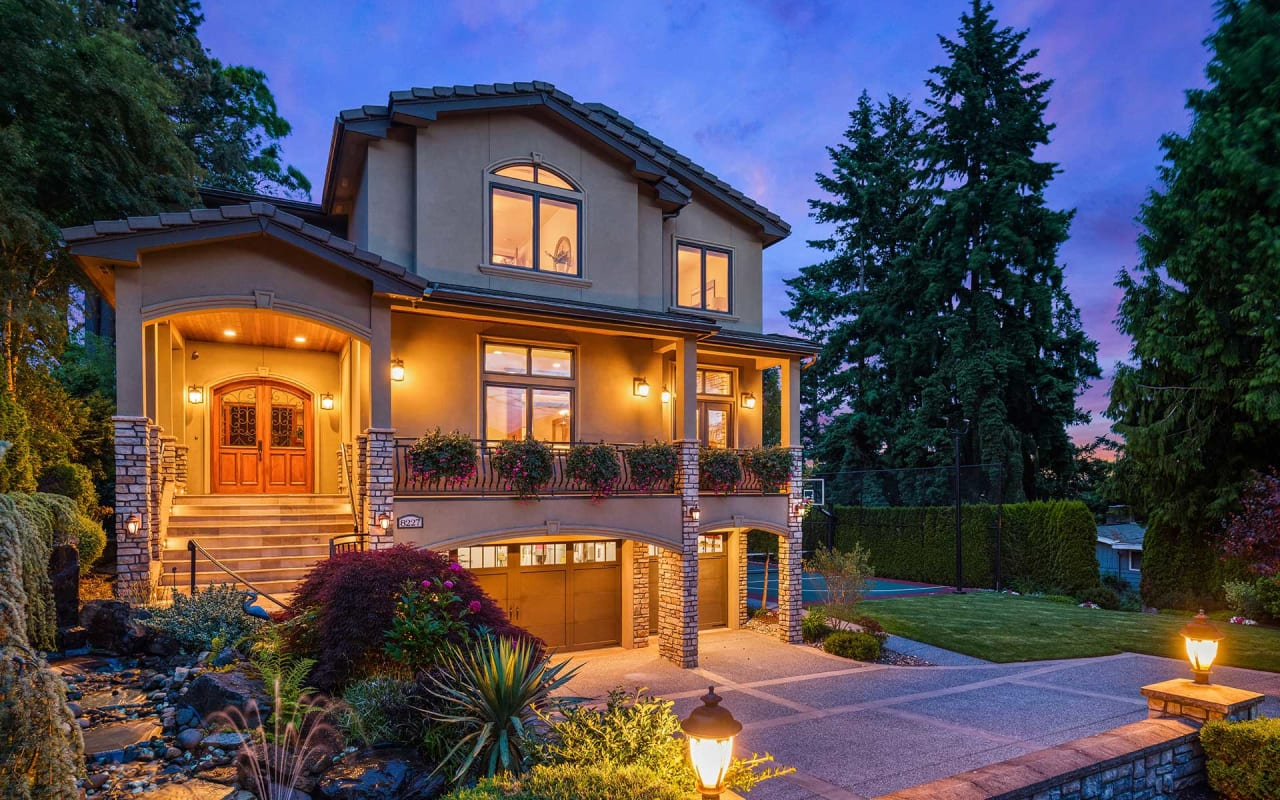 Timeless Style & Views in a Private North Kirkland Locale