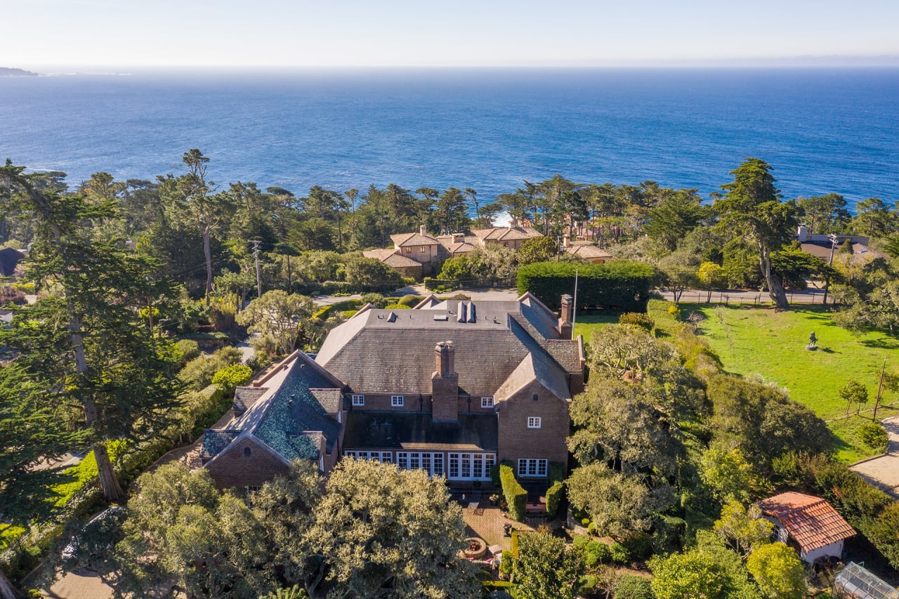 Pebble Beach Oceanview Estate - 1303 Padre Lane