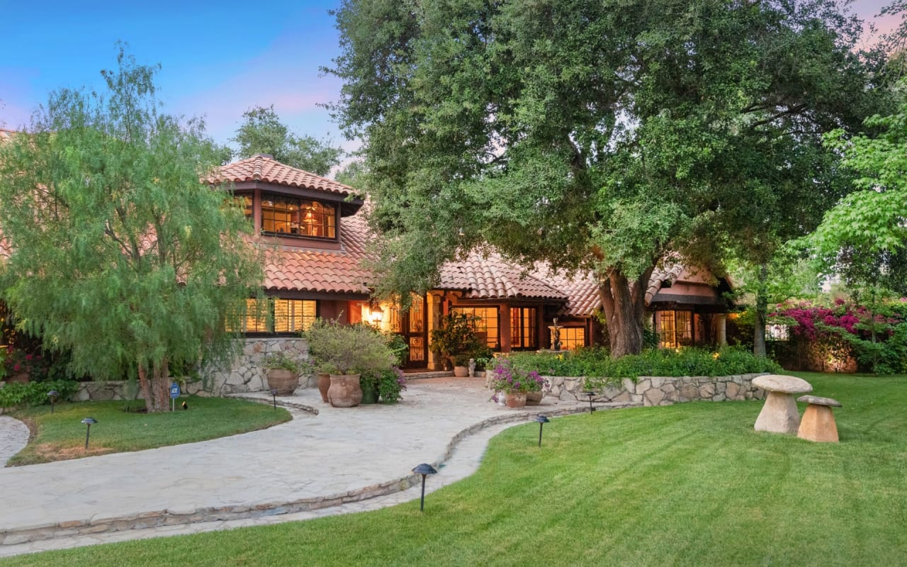 Magical + Romantic Old World Estate