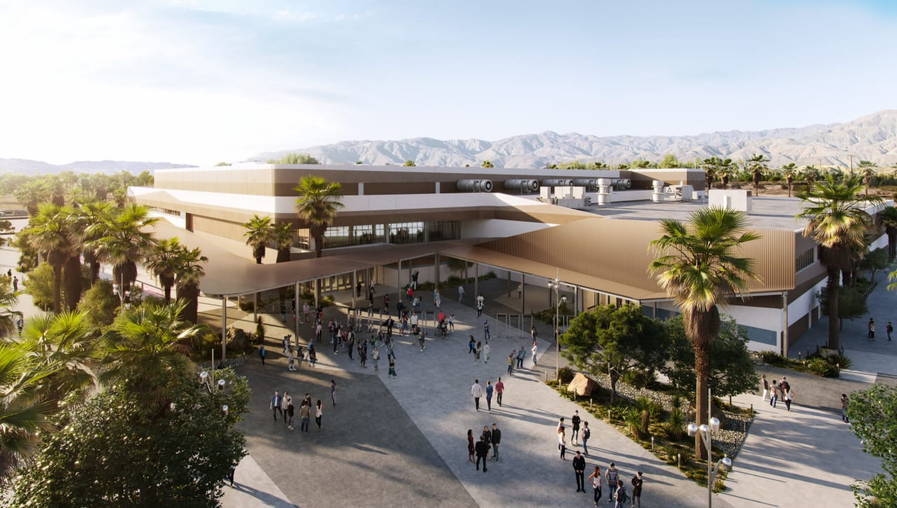 SNEEK PEAK: Coachella Valley Arena
