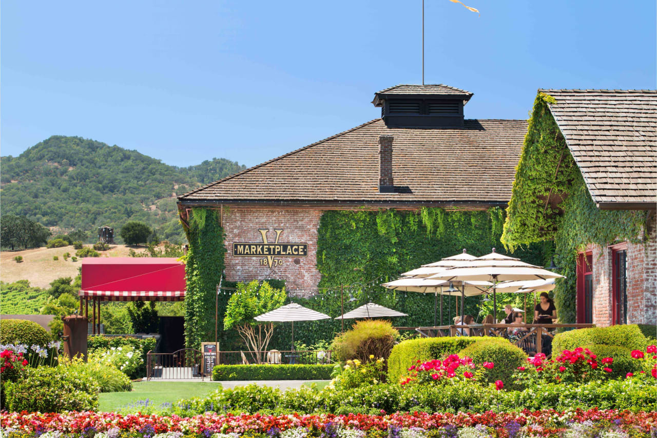 Yountville in the Summer