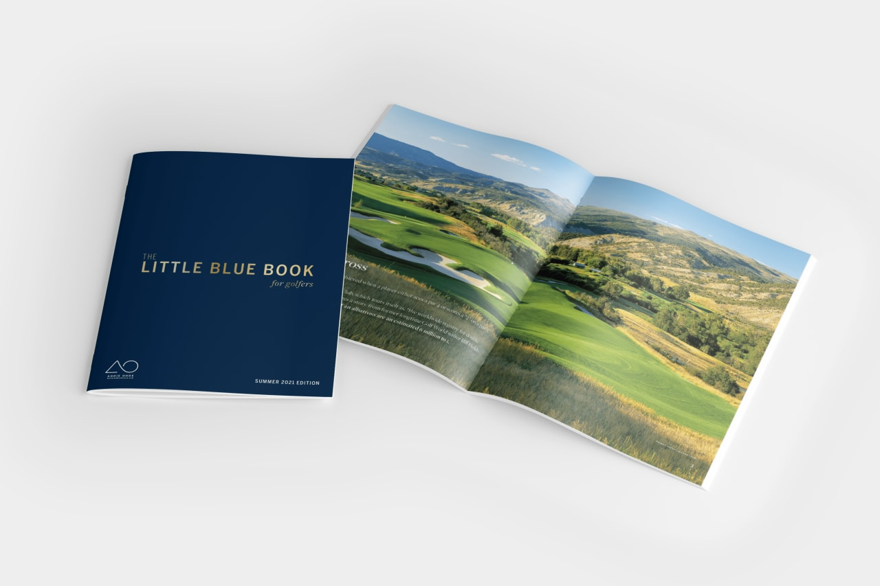Little Blue Book for Golfers