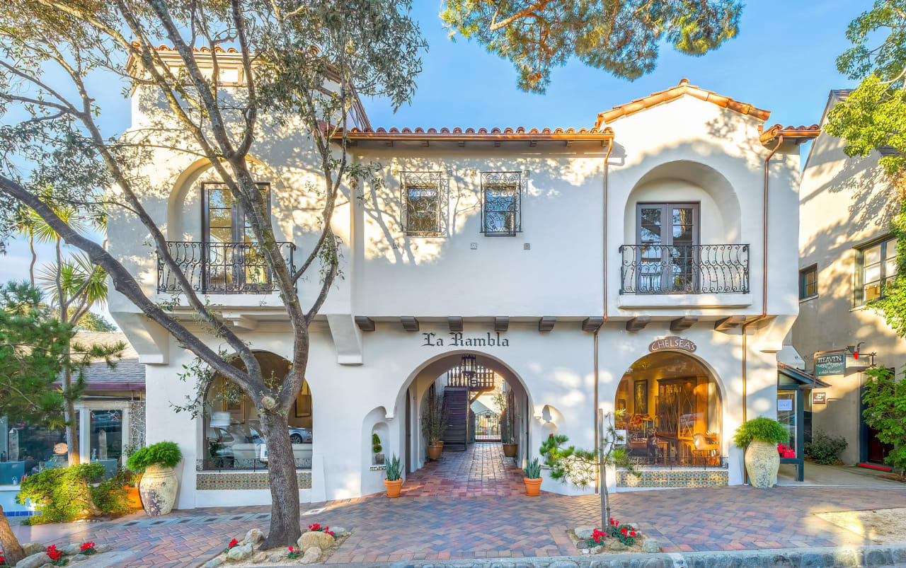 La Rambla - Commercial Building For Sale - Downtown Carmel-by-the-Sea