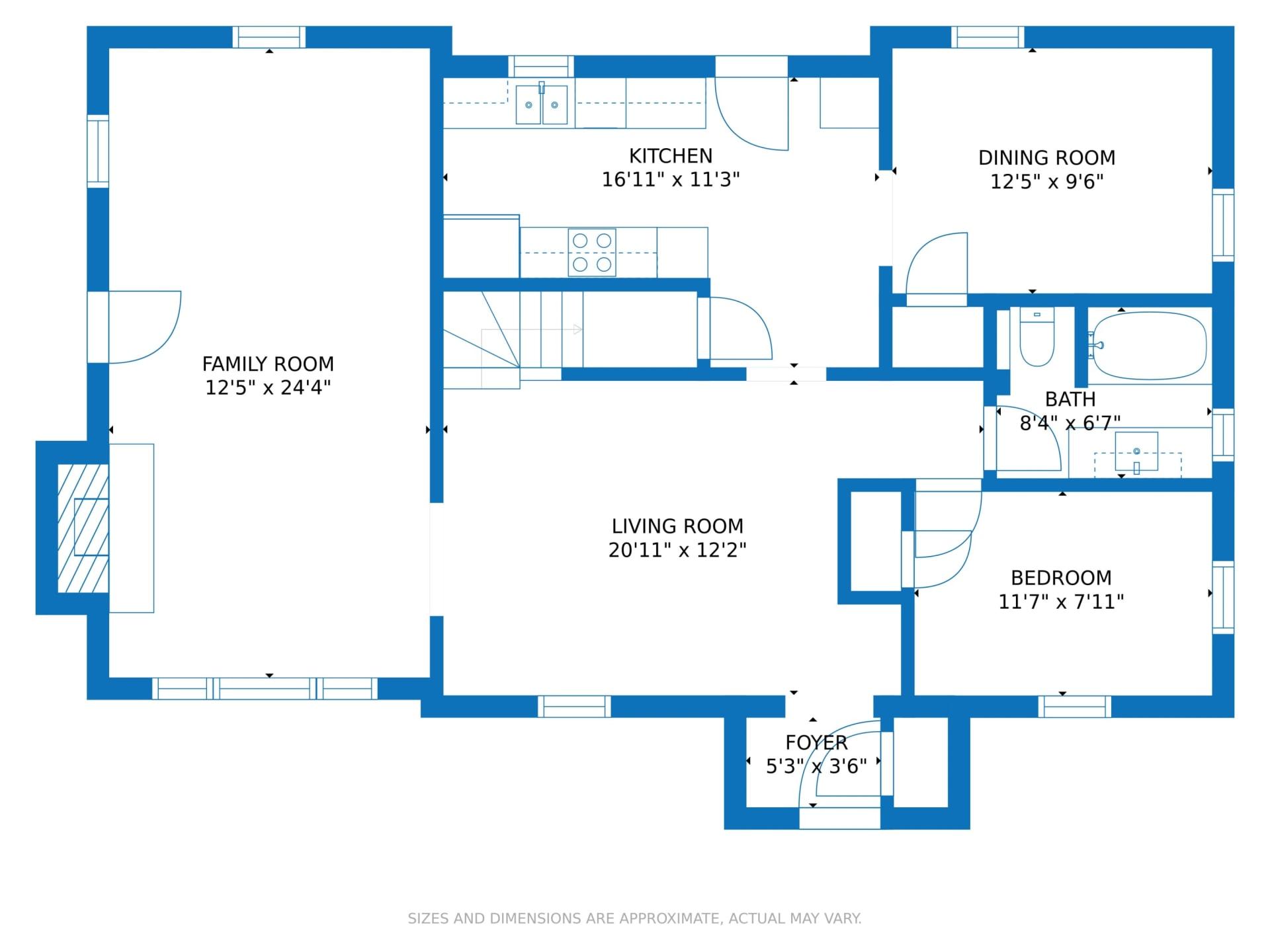 Enhanced Floor Plan