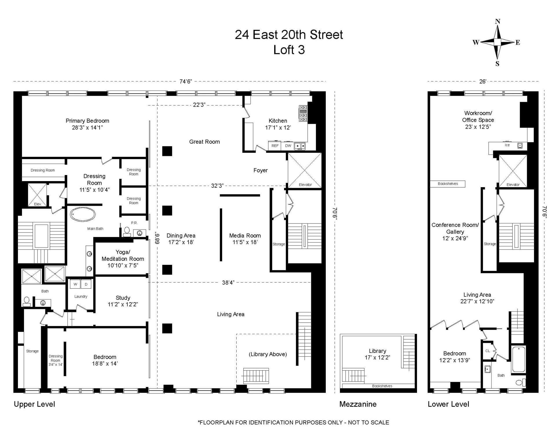 24 East 20th Street, Loft 3