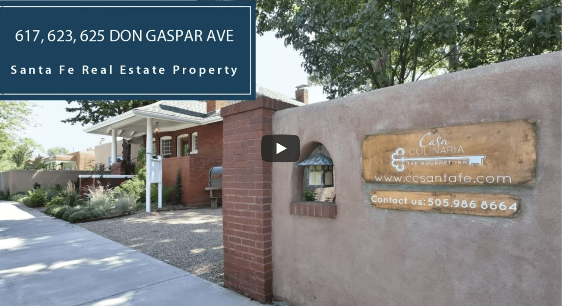 South Capital Commercial or Residential | 617, 623, 625 Don Gaspar Ave  video preview