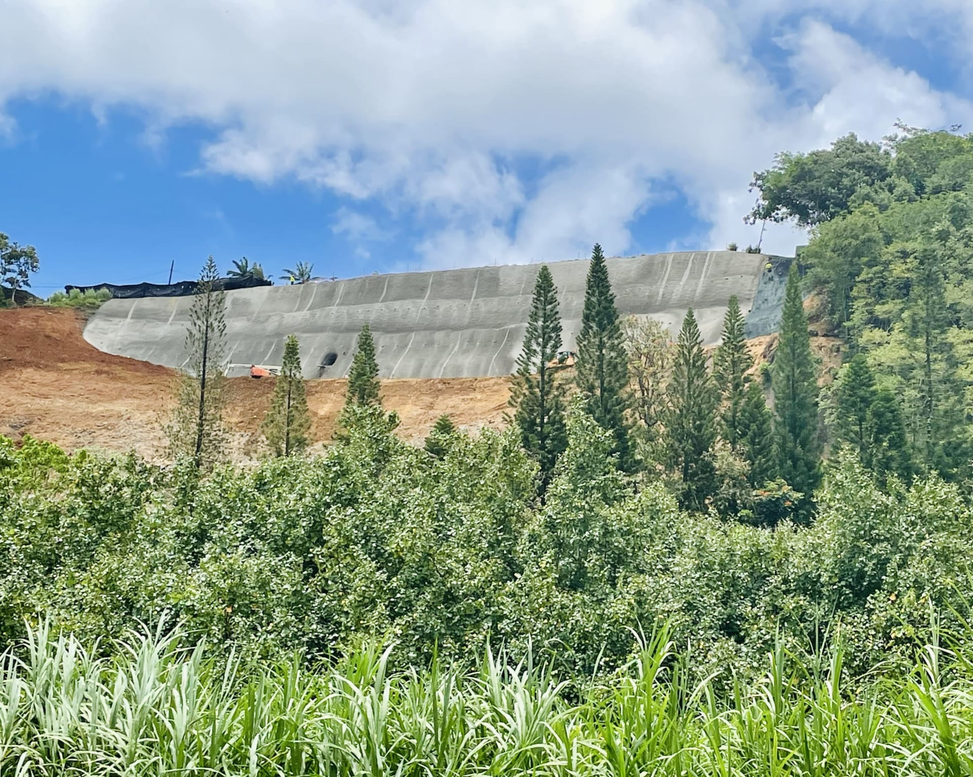 Hanalei Hill Repairs and North Shore Convoy Update