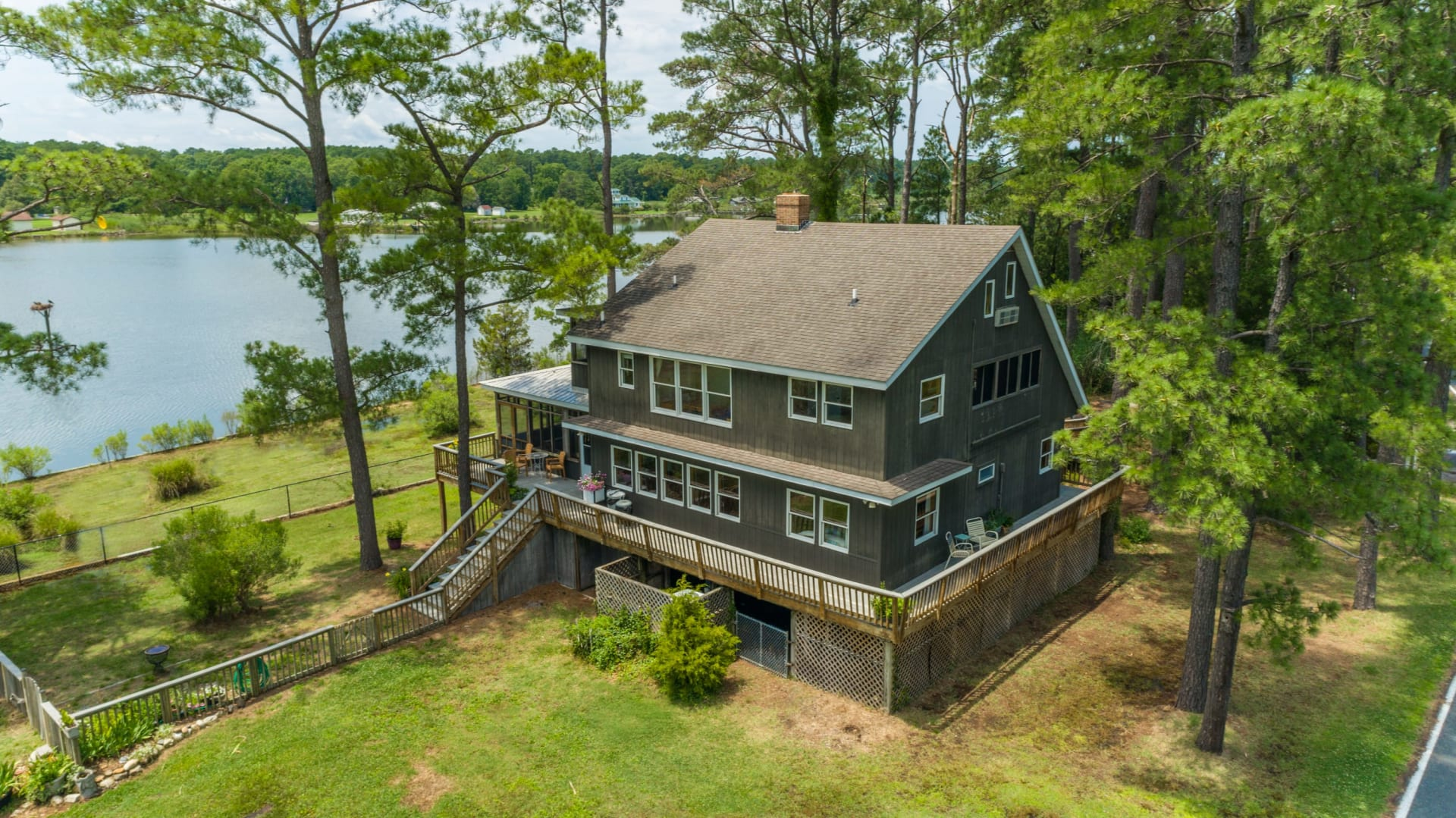 One of a kind St. George Island Waterfront property w/Oyster House - 16127 Piney Point Road video preview