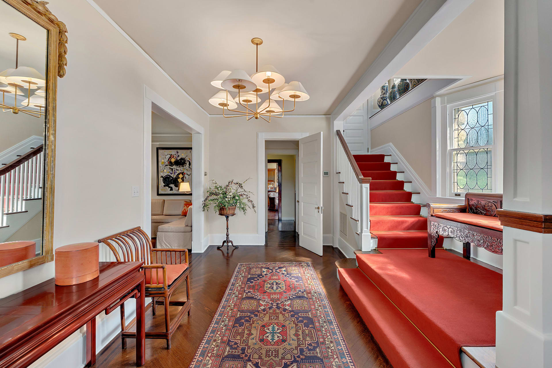 """3 Fairfield Road Greenwich Time Article: """"Renovated Greenwich Antique on the Market for the First Time in 20 Years"""""""