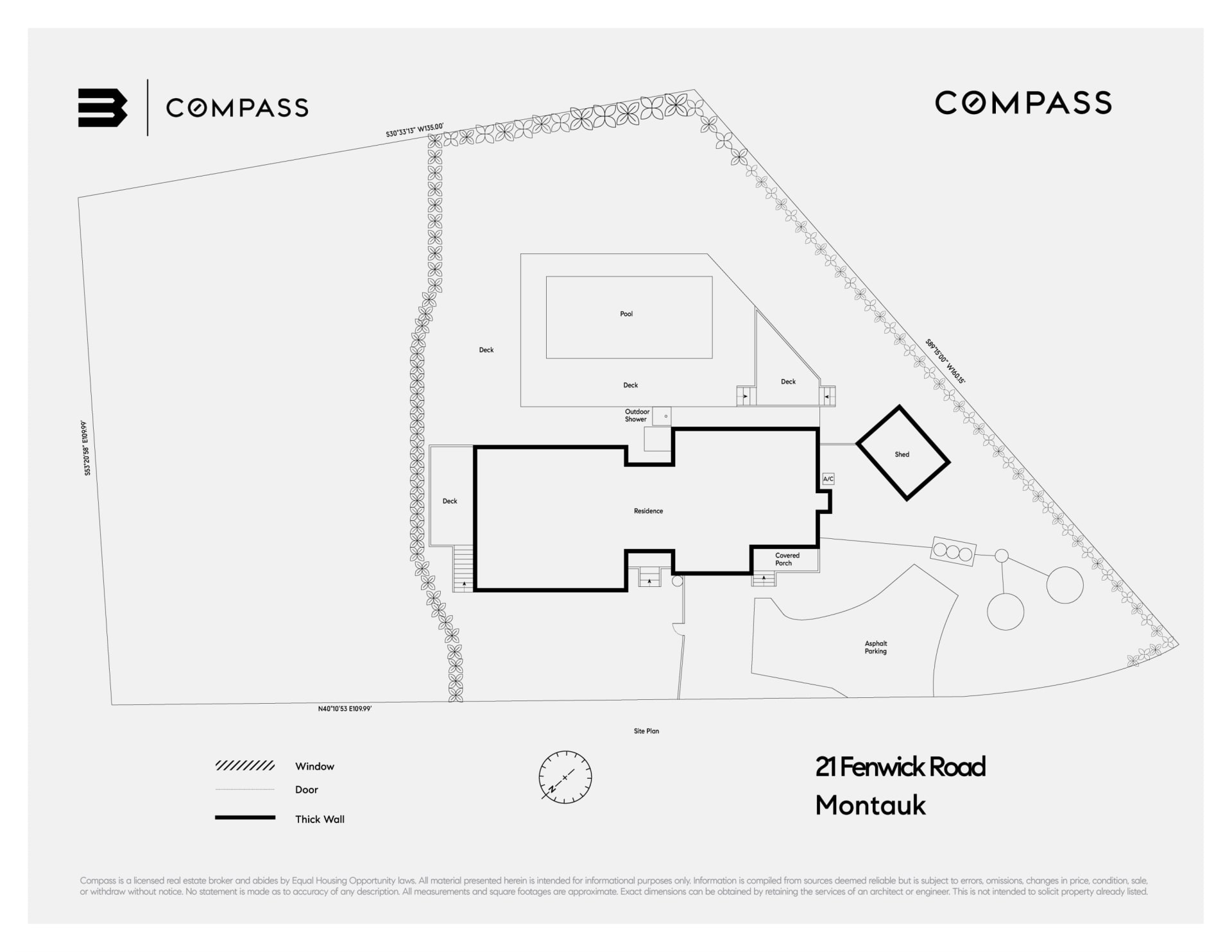 Montauk with Plans for Addition and Pool