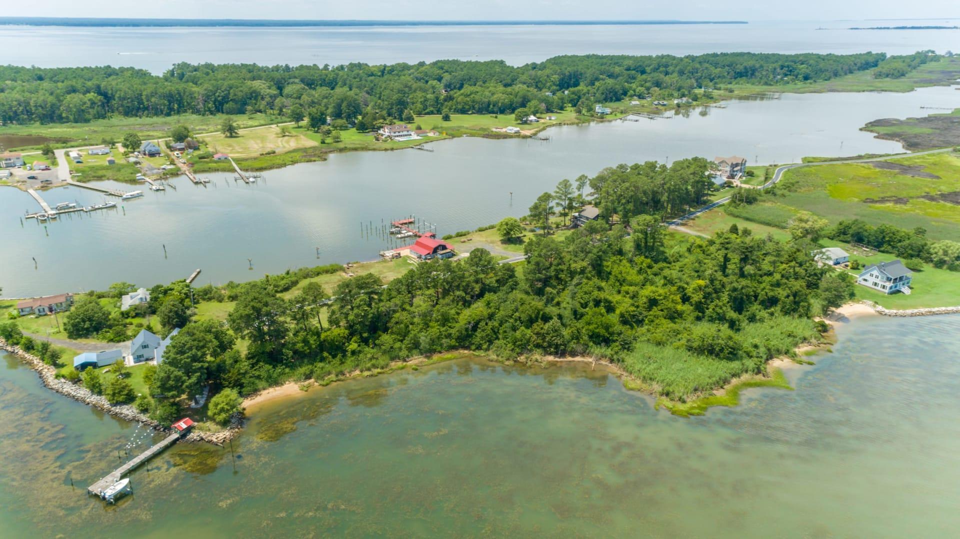 Pristine St. George Island Waterfront Land - Piney Point Road