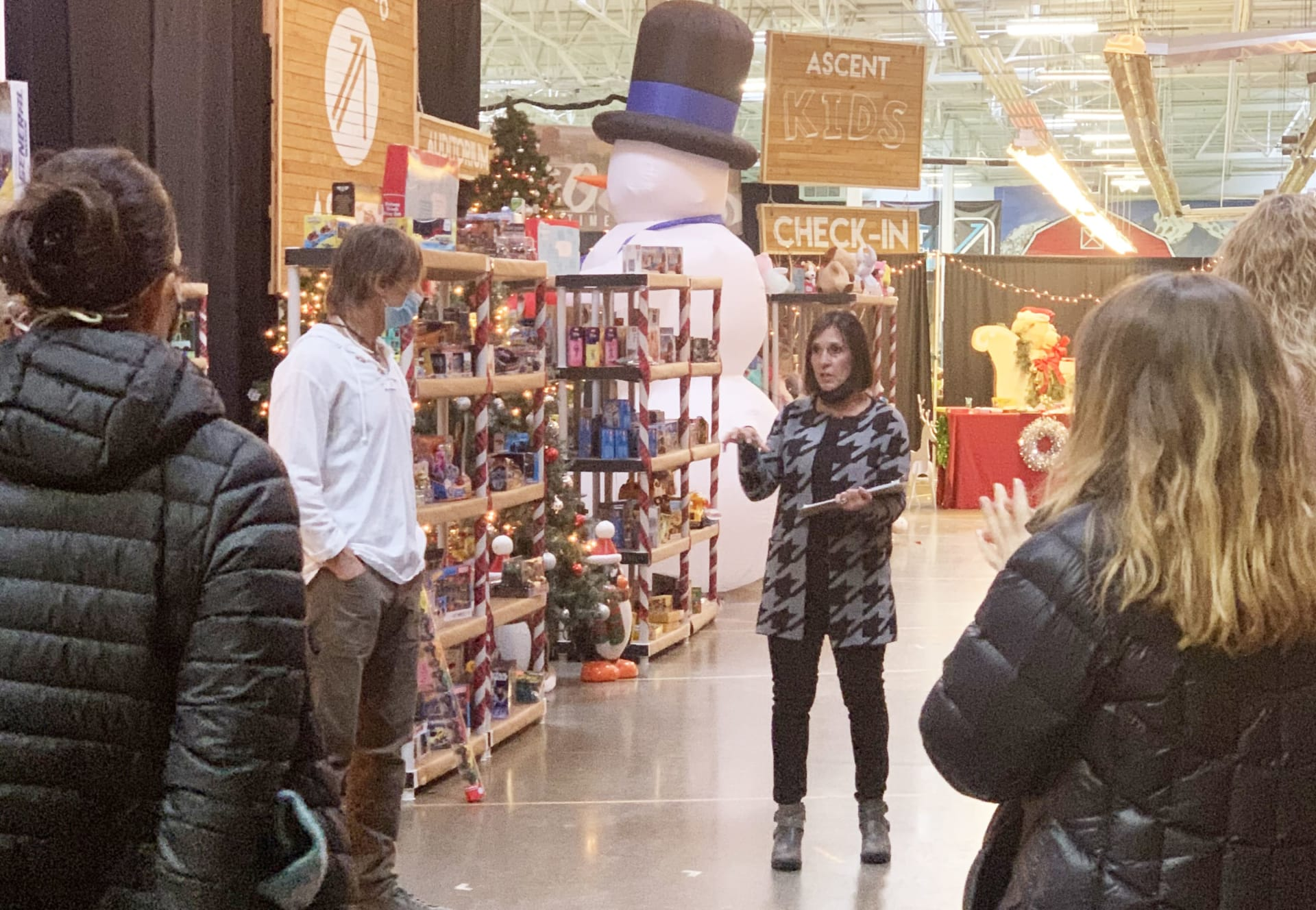 Tricia Dessel of Burgess Group | Compass in Boulder Supports the Ascent Christmas Shoppe