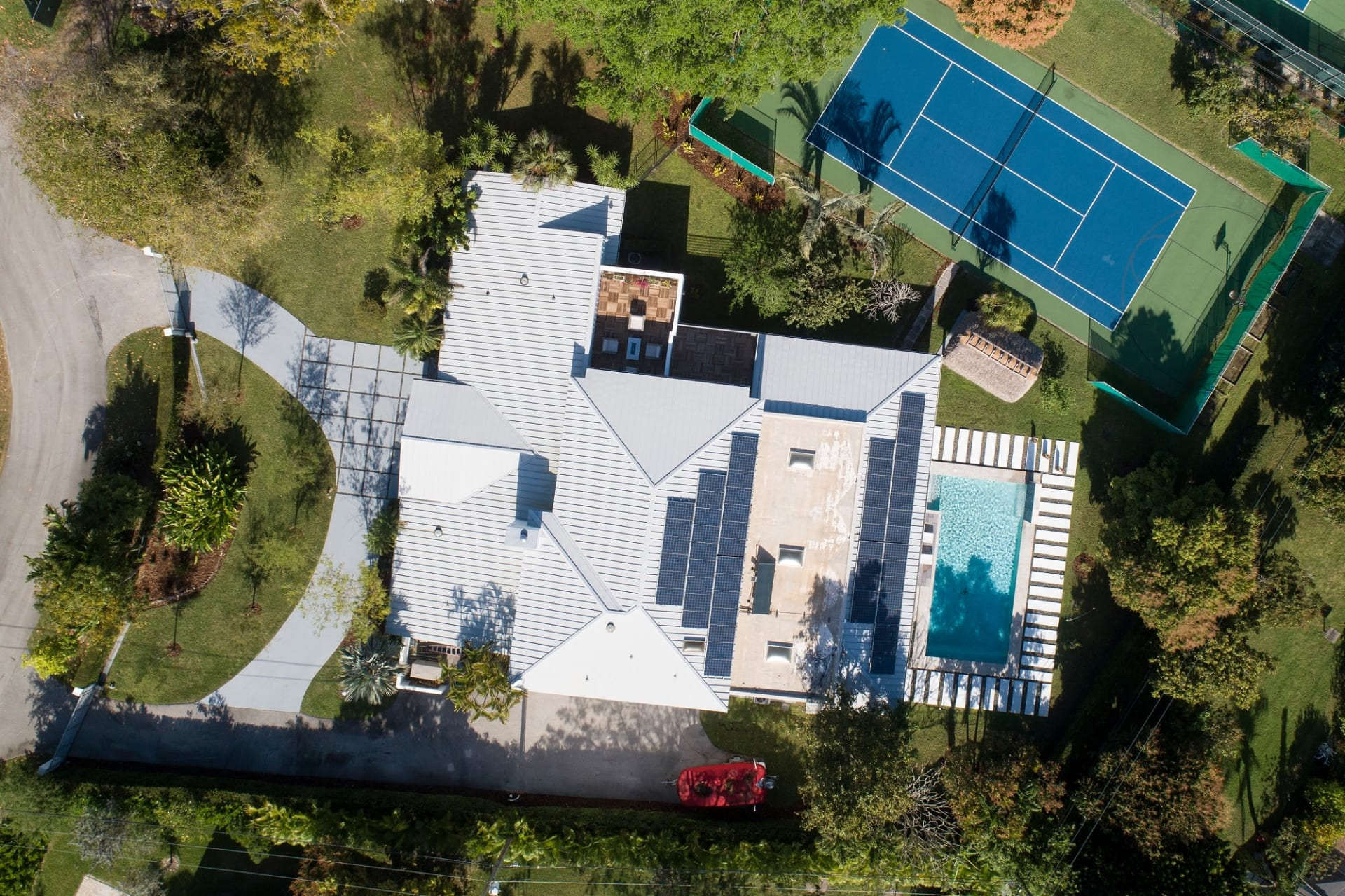 Luxurious Resort-Style Tennis Court Estate | 6460 SW 111 Drive  video preview
