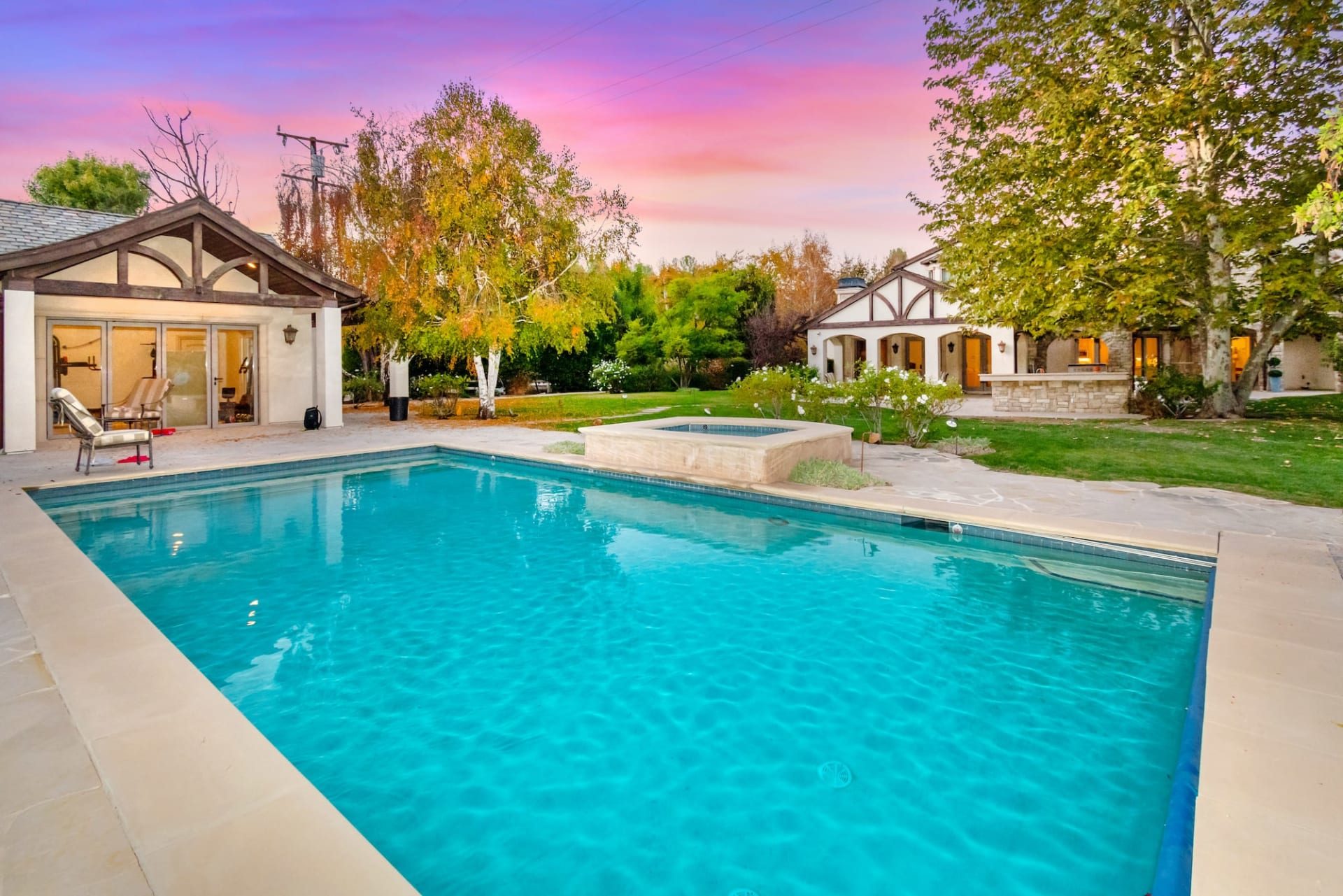 Hidden Hills Country French Estate