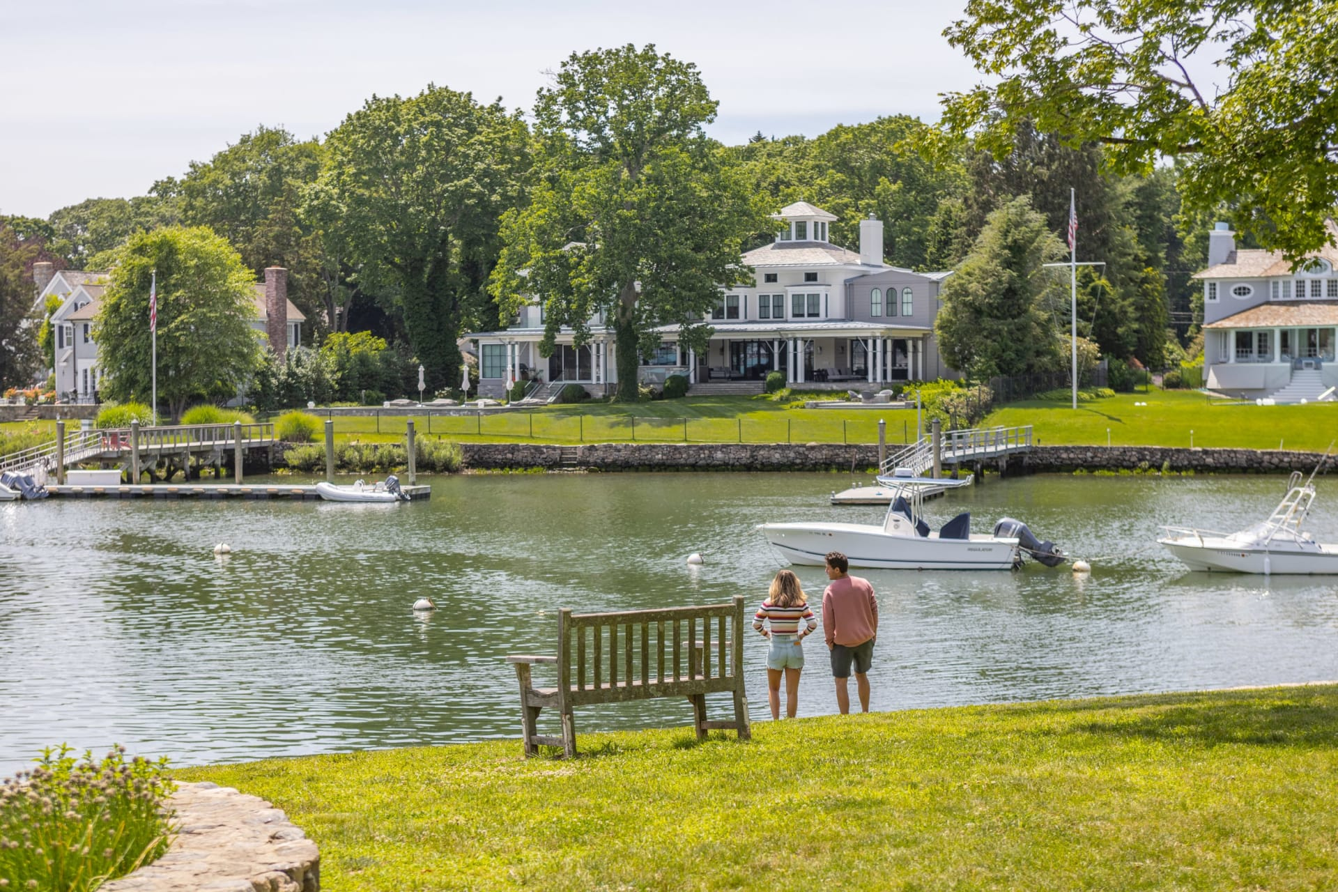Gold Coast Waterfront Series Part 4: Best Fairfield County Waterfront Homes with Deep Water Docks