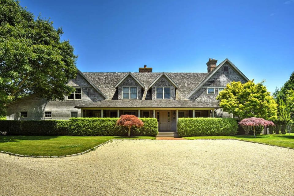 A recently renovated traditional style home in Amagansett lists for $8M