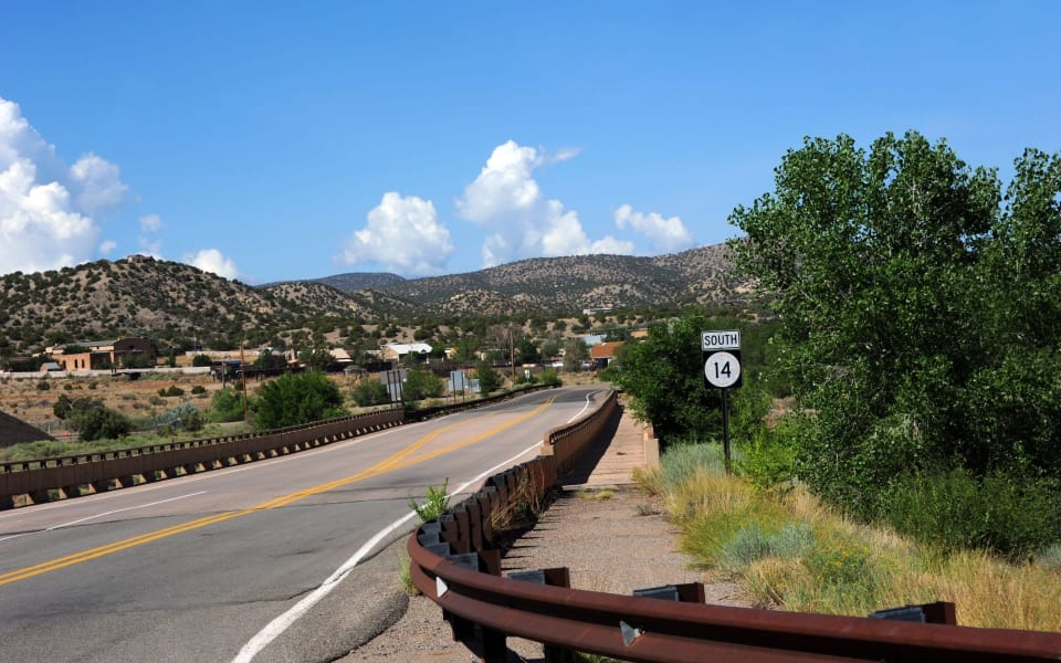 The Turquoise Trail photo