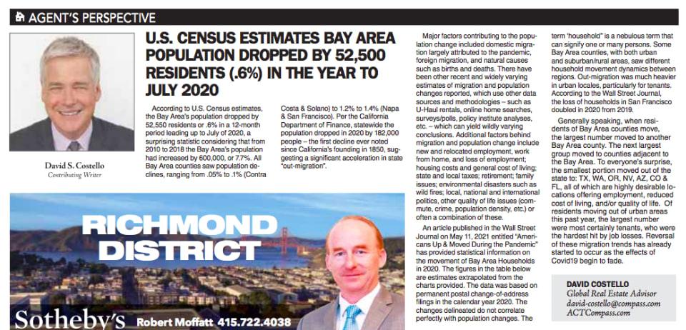 SAN FRANCISCO EXAMINER June 6, 2021