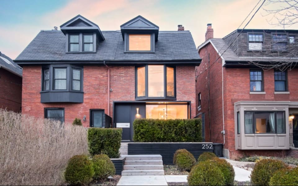 House of the Week: $3.3 Million for a Newly Renovated Casa Loma Semi With an Impressive Master Suite