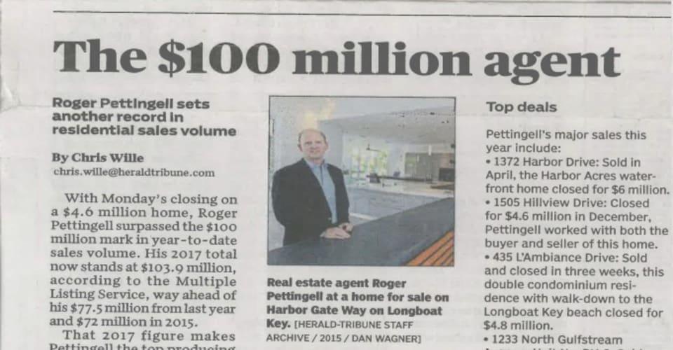 The $100 million agent