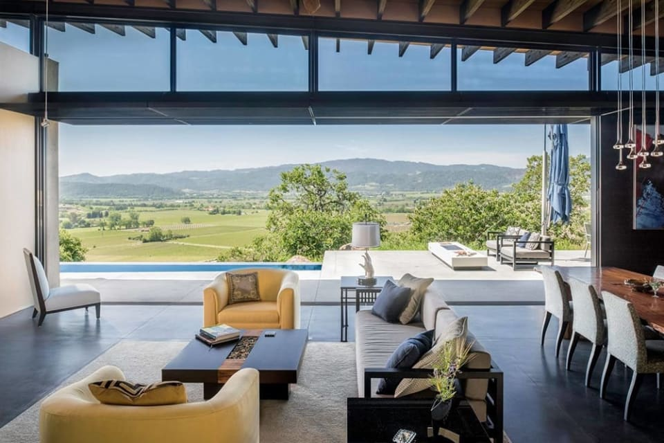A Breathtaking Modern Estate in Napa Hits the Market