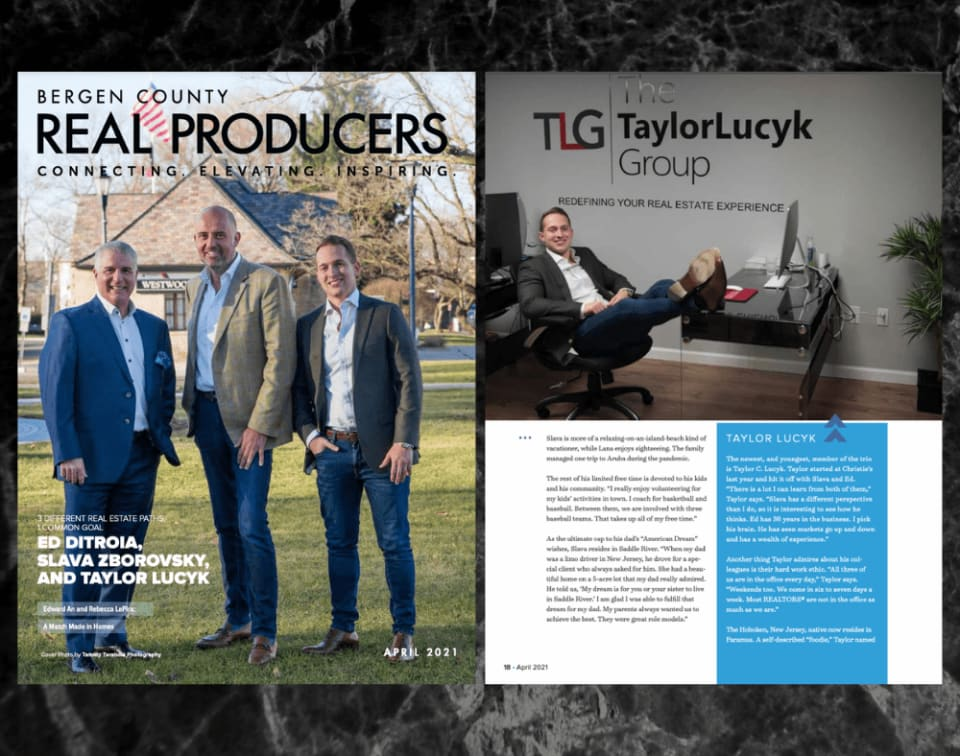 Bergen County Real Producers - April 2021 - Cover Feature