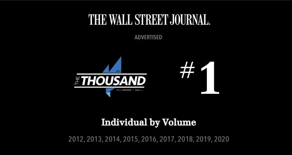 Valia Properties Recognized by the Wall Street Journal as #1 Brokerage in Orange County