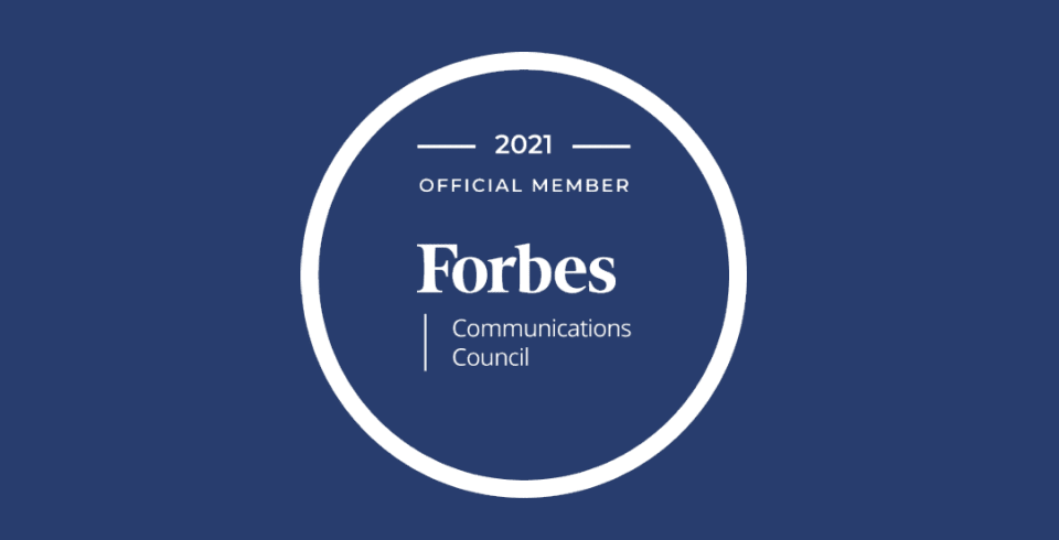 Valia Properties Selected Into Forbes Communications Council, Third Consecutive Year