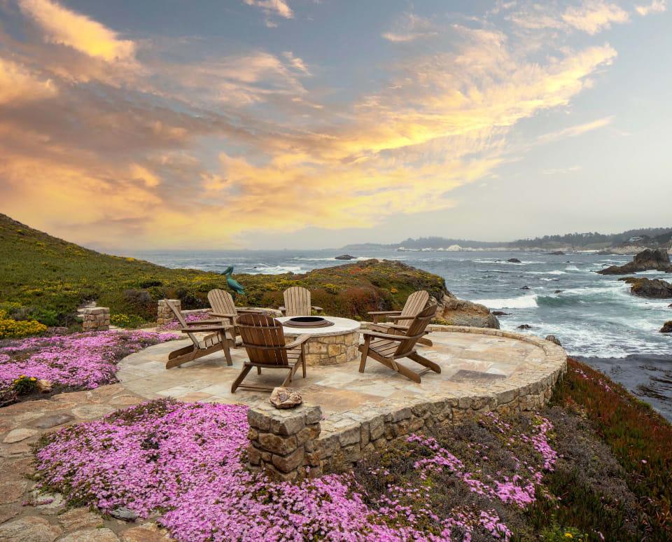 "Carmel Highlands Luxury Rental - ""Shiprock"""