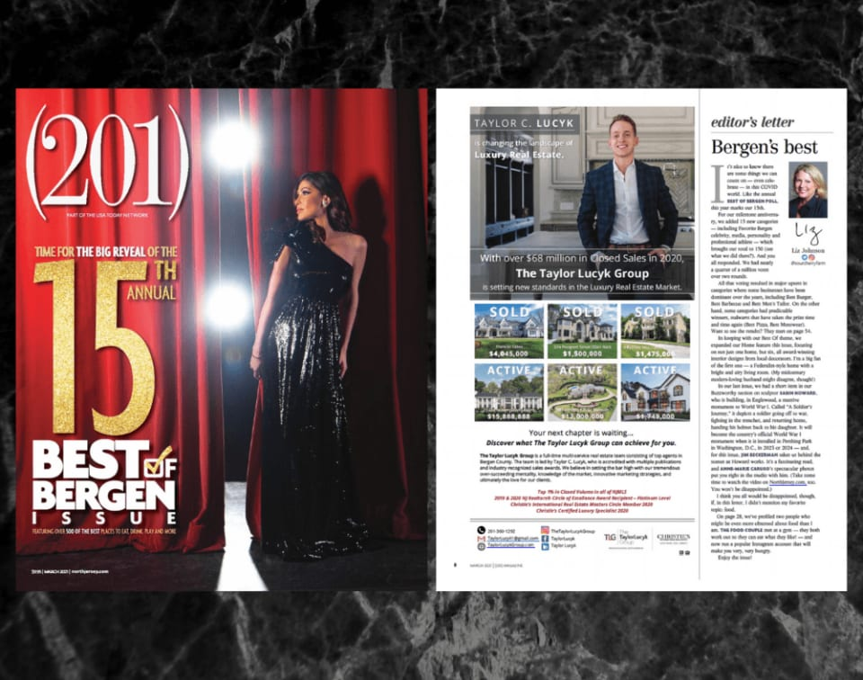 201 Magazine - 15th Annual Best of Bergen 2021 Issue