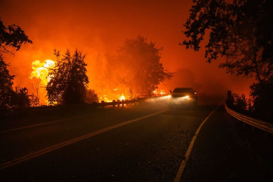 San Francisco Virus Refugees Return From Napa as Wildfires Rage