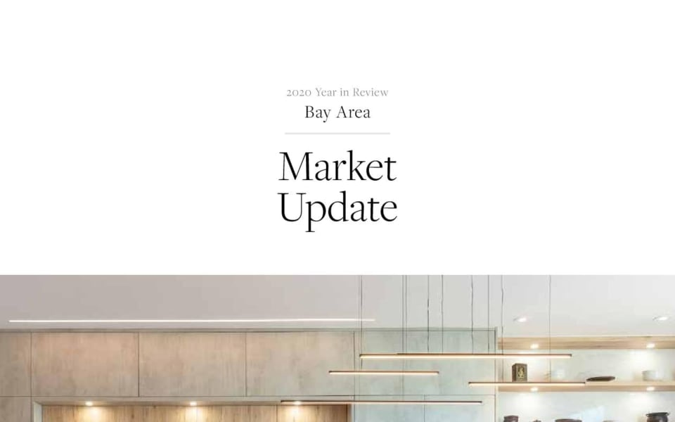 BAY AREA MARKET REPORT YEAR IN REVIEW 2020
