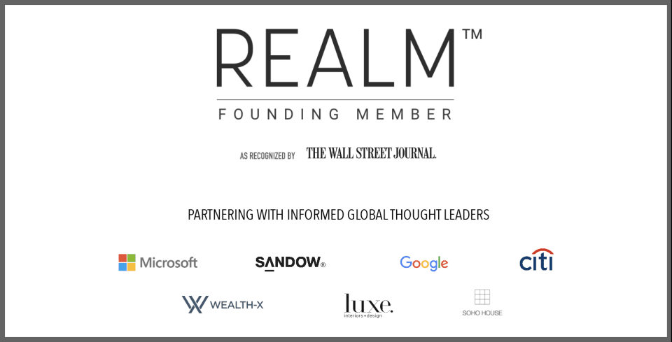 Recognized by the Wall Street Journal as a Founding Member of Realm, Utilizing Artificial Intelligence to Better Serv...