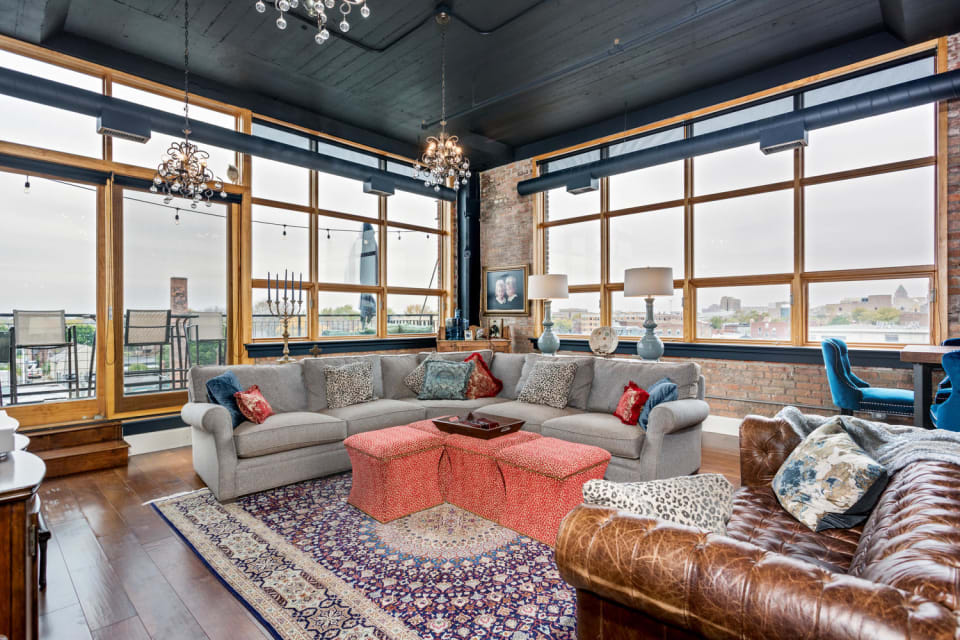 Colorful Corner Loft at Willys Asks $850K