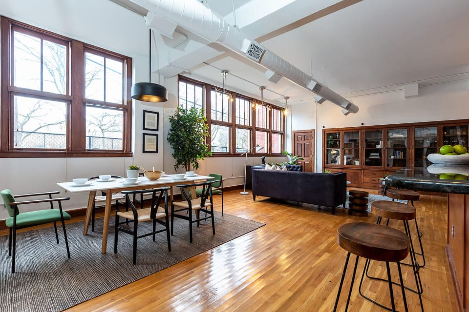Snag This Radiant and Revamped Loft in Detroit for $324K