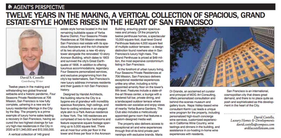 San Francisco Examiner April 11, 2021