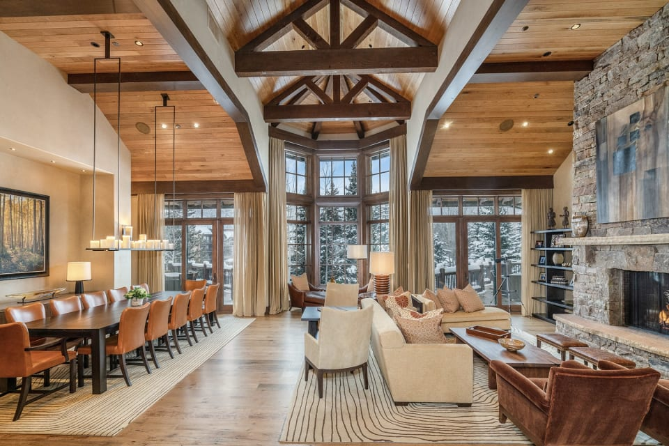 $33 Million Mountain Chalet Could Break a Price Record in Vail, Colorado