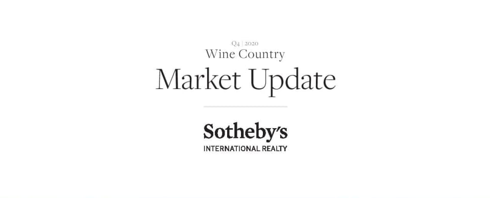 Wine Country Market Report Q4 2020