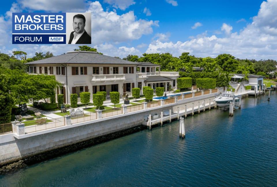 Master Brokers Forum Listing: Tour a Lavish Coral Gables Waterfront Estate Asking $19.5 Million