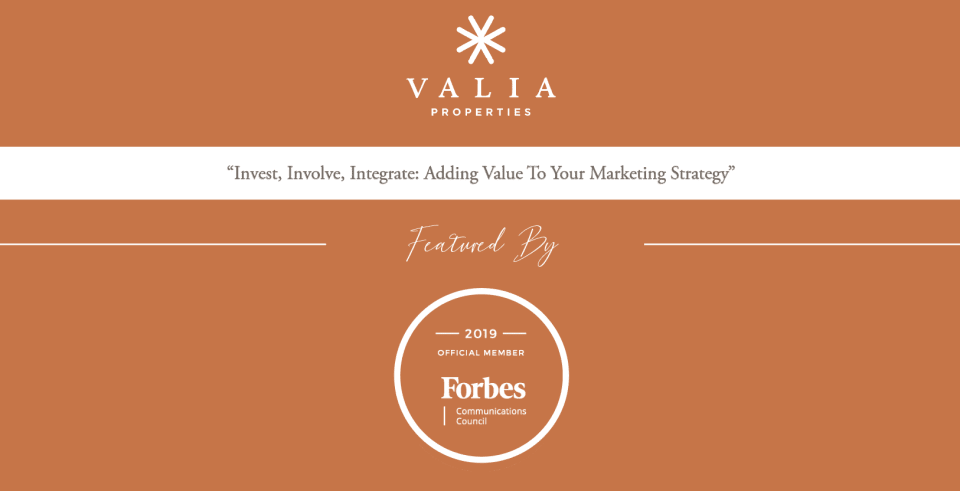 Invest, Involve, Integrate: Adding Value to Your Marketing Strategy