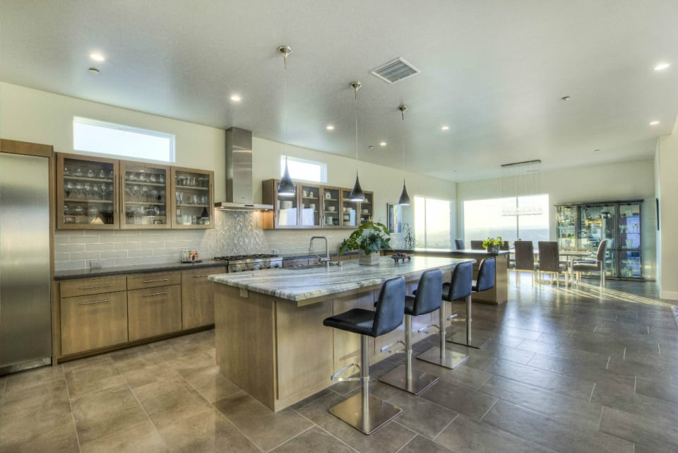 Contemporary - Kitchen - Bonsall