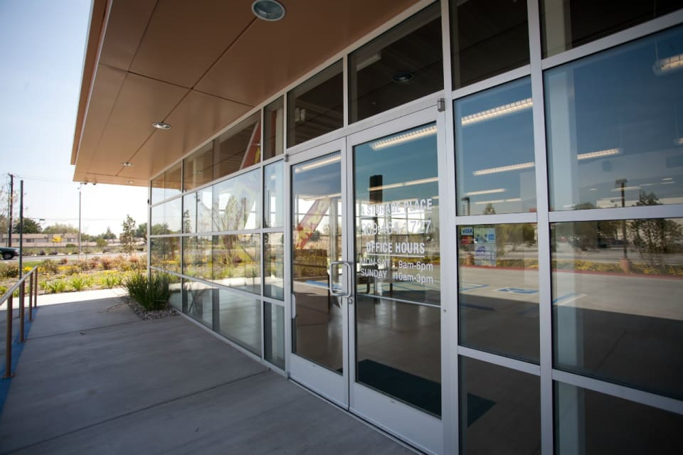 152,000 Sq. Ft. Climate Controlled Building In Montclair CA. (Office Front Door)